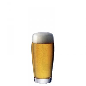 Bicchiere Birra 25,5 cl Biconico GMA serigrafia su vetro