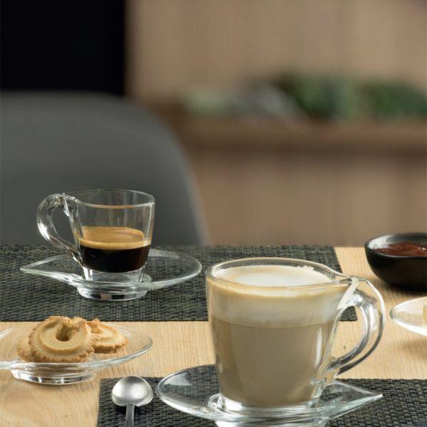 Set Cappuccino Happy RCR vetro GMA