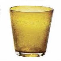 Bicchiere Acqua Bollicine Giallo 25 cl
