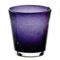 Bicchiere Acqua Bollicine Viola 25 cl