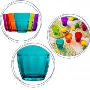 Bicchieri colorati per vino 23 cl Ercole GMA serigrafia su vetro