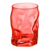Bicchiere Acqua Sorgente Rosso