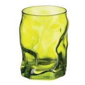 Bicchiere Acqua Sorgente Verde
