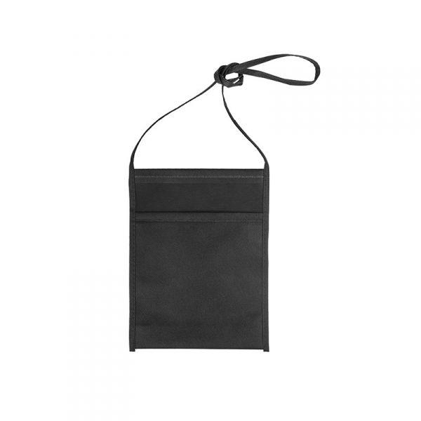 Tracolla Porta calice TNT nero personalizzabile GMA
