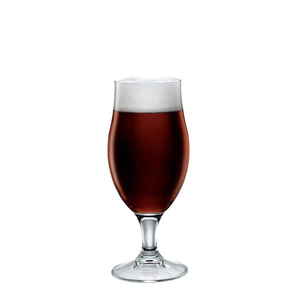 Calice birra Executive 26,1 cl Bormioli Rocco GMA serigrafia loghi su bicchieri birra