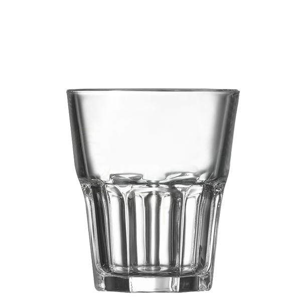 Bicchieri Granity 27 cl GMA serigrafia su vetro