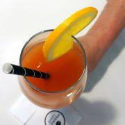 Calice Dream 38 cl vino bianco e aperitivo GMA logo su vetro