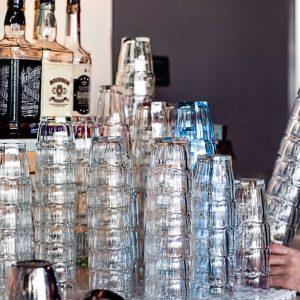 Bicchieri 20 cl Rock Bar Bormioli Rocco GMA Serigrafia su vetro vr