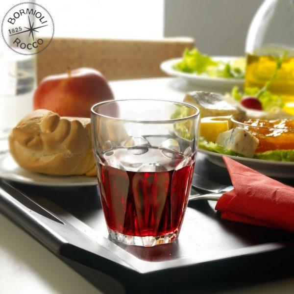 Bicchiere Perugia 17 cl per acqua GMA serigrafia su vetro