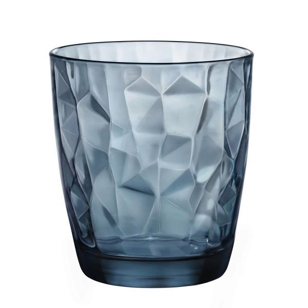 Bicchiere Diamond 39 cl blu