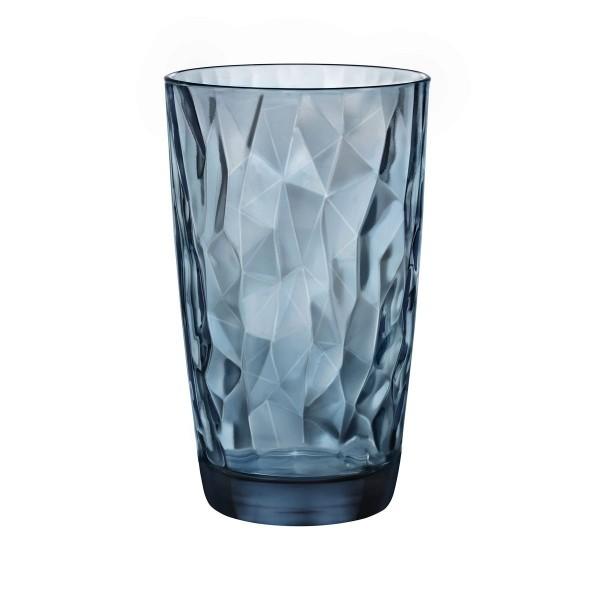 Bicchiere Diamond 47 cl blu