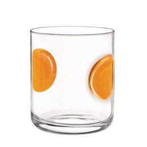 Bicchiere Acqua Giove Arancio 31 cl Bormioli Rocco GMA serigrafia