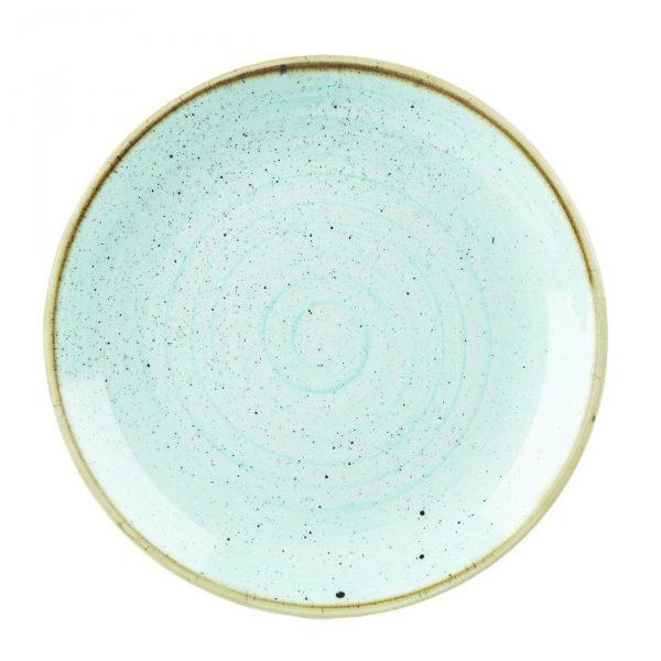 Piatto Piano Azzurro 29 cm Stonecast Churchill GMA porcellana