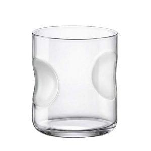 Bicchiere Acqua Giove Satin 31 cl Bormioli Rocco GMA logo su vetro