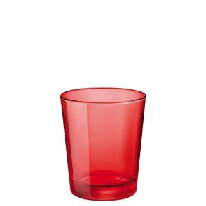 Bicchiere Castore Rosso 30 cl Bormioli Rocco GMA serigrafia su vetro