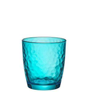 Bicchiere Acqua Palatina Azzurro 32 cl GMA serigrafia su vetro