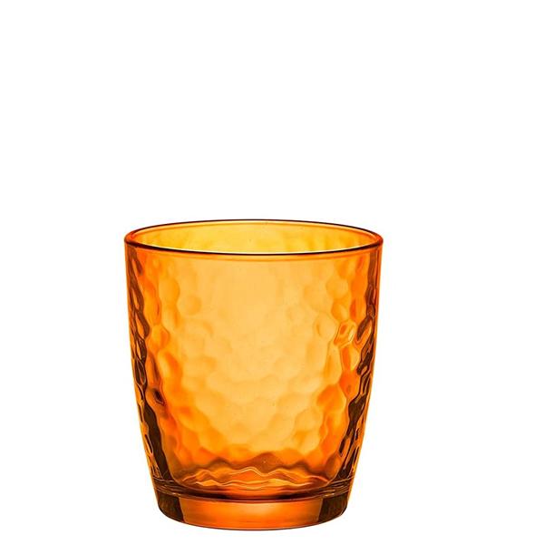 Bicchiere Acqua Palatina Arancio 32 cl i vetro colorato GMA