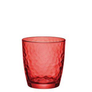 MO-Bicchiere Acqua Palatina Rosso 32 cl GMA serigrafia su vetro vr