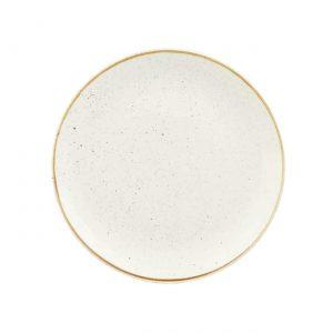 Piatto Piano Bianco 29 cm Stonecast Churchill