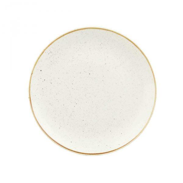 Piatto Piano Bianco 26 cm Stonecast Churchill GMA personalizzazione vetro e porcellane