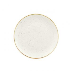 Piatto Frutta bianco 22 cm Stonecast Churchill GMA serigrafia su calici e bicchieri