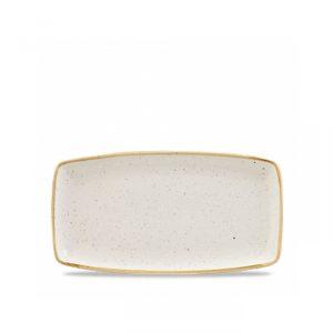 Vassoio Rettangolare Stonecast Churchill bianco 35x18 cm GMA serigrafia su vetro