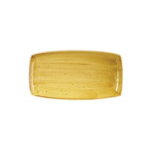 Vassoio Rettangolare Stonecast Churchill Giallo 30x15 cm GMA porcellane