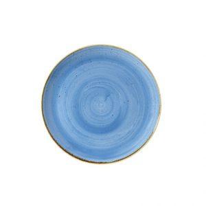 Piatto Pane Blu 16 cm Stonecast Churchill GMA porcellana e vetro personalizzazioni