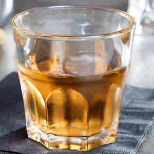 Bicchiere amaro Granity 4 cl vetro temperato per acqua e bibite Arcoroc GMA logo su vetro