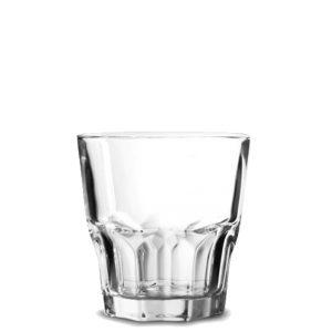 Bicchieri Granity 20 cl vetro temperato per acqua e bibite Arcoroc GMA personalizzazione vetro