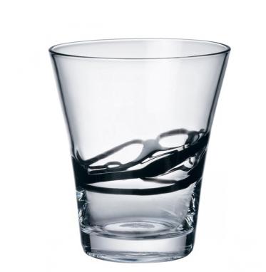 Bicchiere Ceralacca Lui Nero 38 cl Bormioli Rocco GMA personalizzazione vetro