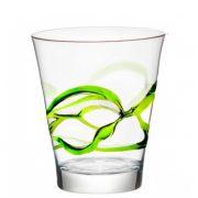 Bicchiere Ceralacca Lui Verde 38 cl Bormioli Rocco GMA serigrafia su vetro