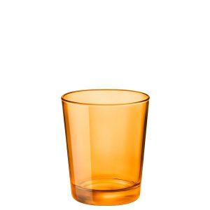 Bicchiere Castore Arancio 30 cl Bormioli Rocco GMA serigrafia su vetro