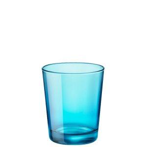 Bicchiere Castore Azzurro 30 cl Bormioli Rocco GMA serigrafia su vetro
