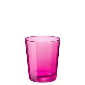 Bicchiere Castore Fucsia 30 cl Bormioli Rocco GMA serigrafia su vetro