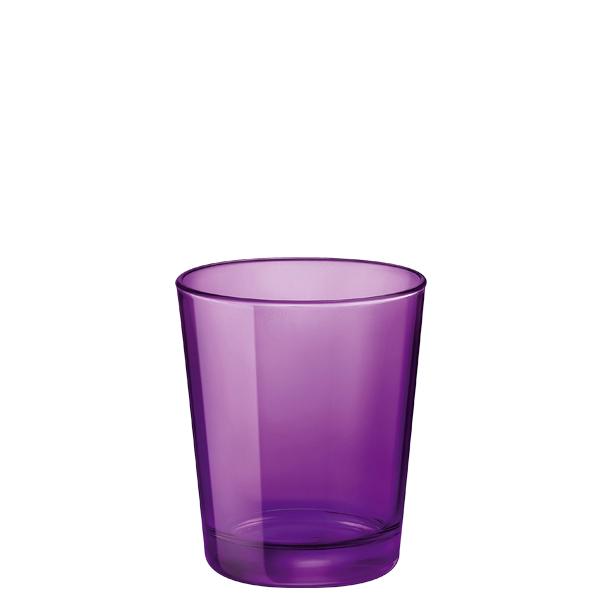 Bicchiere Castore Viola 30 cl Bormioli Rocco GMA serigrafia su vetro