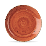 Piatto Piano Stonecast Arancione 22 cm
