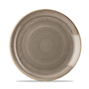 Piatto Piano Stonecast Grigio 22 cm