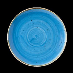 Piatto Piano Blu 29 cm Stonecast Churchill