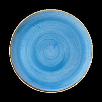 Piatto piano Blu Stonecast 26 cm