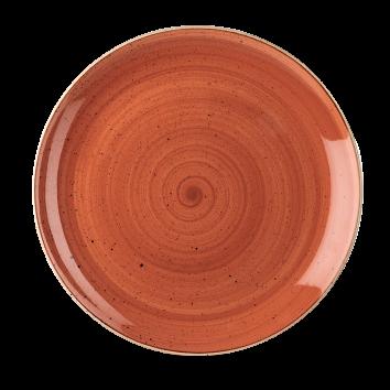 Piatto Piano Stonecast Arancione 28,8 cm