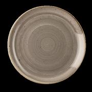 Piatto Piano Stonecast Grigio 28,8 cm