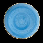 Piatto piano Blu Stonecast 28,8 cm