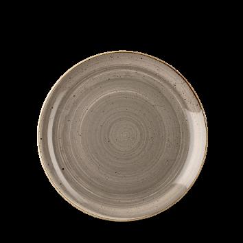 Piatto Piano Stonecast Grigio 16,5 cm