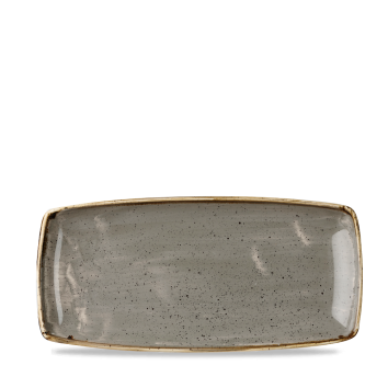 Piatto Rettangolare Stonecast Grigio 29,5×15 cm
