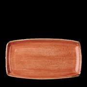 Piatto Rettangolare Stonecast Arancione 35x18,5 cm