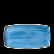 Piatto Rettangolare Blu Stonecast 35x18,5 cm