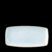 Piatto Rettangolare Stonecast Azzurro 29,5×15 cm