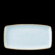 Piatto Rettangolare Stonecast Azzurro 35x18,5 cm
