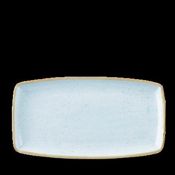 Piatto Rettangolare Stonecast Azzurro 35×18,5 cm